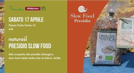 Locandina lenticchie di Ustica
