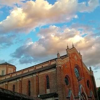 L'iconica Cattedrale di Asti, in una bellissima foto di Efrem Zanchettin
