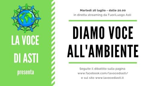 """""""Diamo VOCE all'Ambiente"""": la nostra trasmissione questa sera al FuoriLuogo di Asti"""
