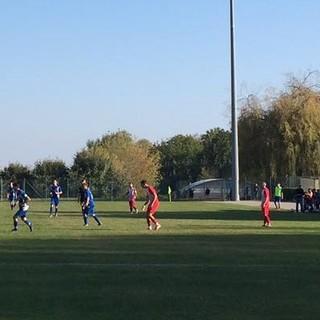 Un immagine del match contro il Mezzaluna Villanova
