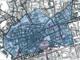 La mappa dell'ampia area interdetta alla circolazione dei veicoli più vecchi