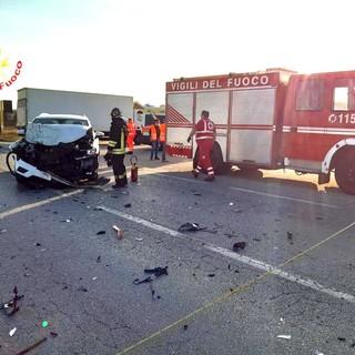 Due feriti nello scontro tra due veicoli a Marene