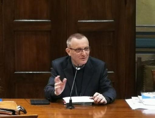Il vescovo di Asti, monsignor Marco Prastaro