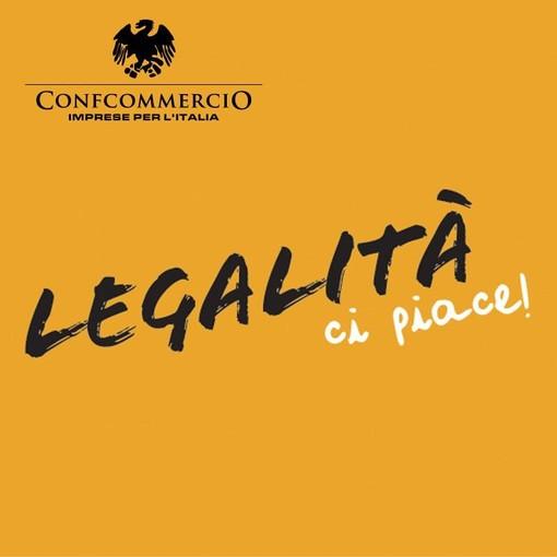 """Manifesto iniziativa Confcommercio """"Legalità, ci piace!"""""""