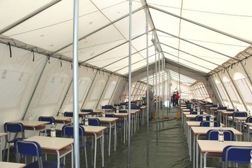 Scuola: anche quest'anno a Villafranca i 170 bambini pranzeranno sotto la tenda