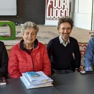 Nella foto, da sinistra a destra: Luciano Sutera Sardo, Massimo Cerruti, Angela Quaglia, Michele Anselmo, Mauro Bosia e Mario Malandrone