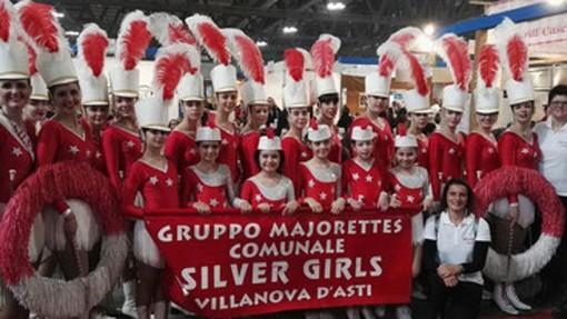 Oggi le Majorettes Silver Girl di Villanova d'Asti animeranno il grande Carnevale di Viareggio