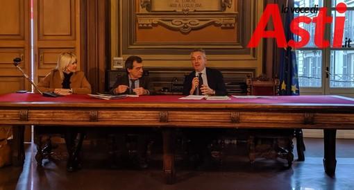 L'assessore Loretta Bologna, Fulvio Lavina e il dott. Gaudina