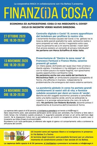 La pandemia globale ie i suoi cambiamenti, ultimo incontro online con Mag 4 Piemonte