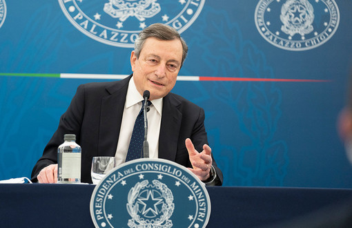 Mario Draghi DL Sostegni