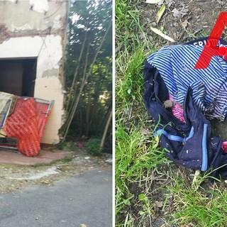 Il declino della ex Colli di Felizzano, tra rifiuti, materassi e mutande abbandonate