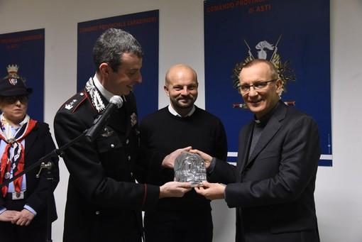 Monsignor Marco Prastaro con il Tenente Colonnello Pierantonio Breda