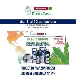 La Rava e Fava a favore della tutela della foresta amazzonica con i prodotti AmazonForest