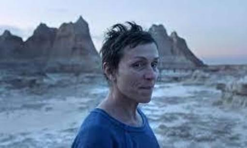 Francis McDorman in una scena di 'Nomadland'