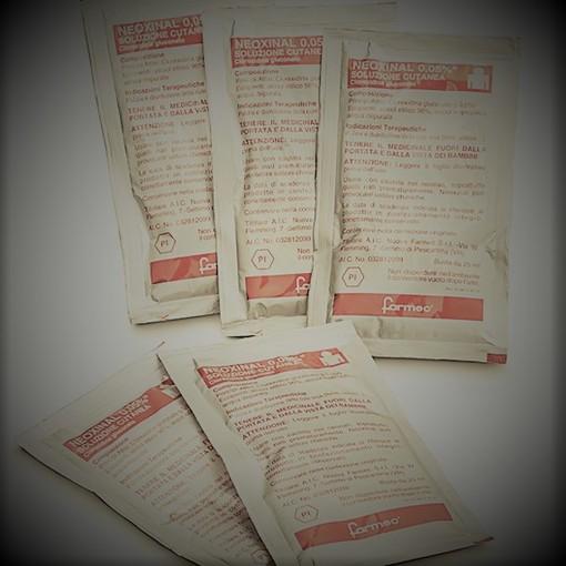 L'Aifa vieta l'utilizzo delle bustine del disinfettante Neoxinal