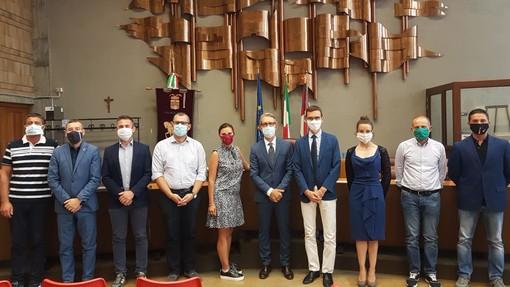 Il neo questore Sebastiano Salvo in visita in Provincia con l'impegno di andare in tutti i Comuni