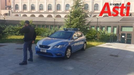 Scarcerato con obbligo di firma l'astigiano che questa notte ha travolto otto auto in corso Torino