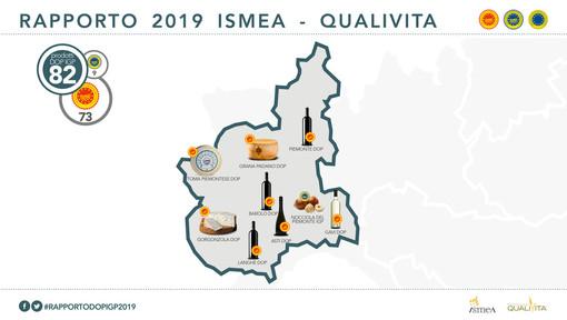 Il Piemonte è la quarta regione italiana per valore di Vino e Cibo IG: Cuneo prima provincia, seguita da Asti