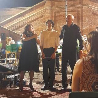 Successo per l'esibizione della banda municipale di Villafranca d'Asti