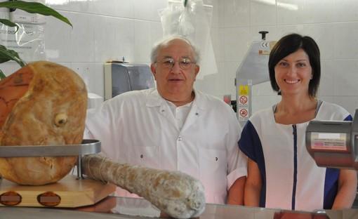 La titolare Luisa Pavanello e il padre Gilberto, fondatore dell'attività