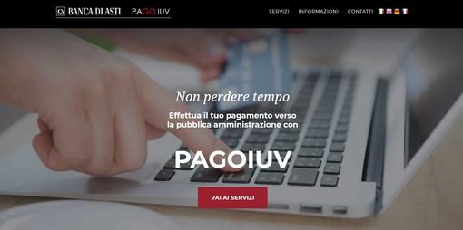 L'home page del portale