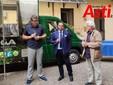 """Nella foto, da sinistra: il presidente di Cia Asti Alessandro Durando, il presidente regionale Gabriele Carenini e il giornalista e creato del """"Bagna Cauda Day"""" Sergio Miravalle"""