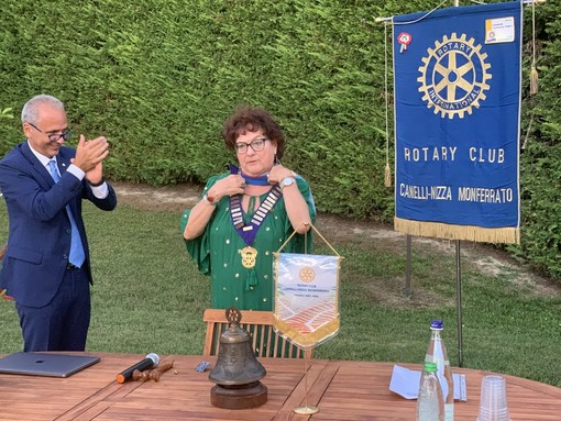 Il Rotary Canelli-Nizza Monferrato ha chiuso il suo XXV anno di attività