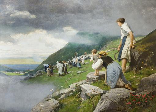 Pellegrinaggio ad Oropa di Delleani