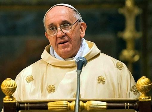 Papa Francesco in un'immagine tratta da Wikipedia