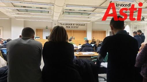Ancora una volta i volontari del Coordinamento di Libera Asti all'udienza del processo Barbarossa