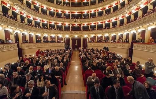 Asti, Teatro Alfieri gremito per il Premio Asti d'Appello