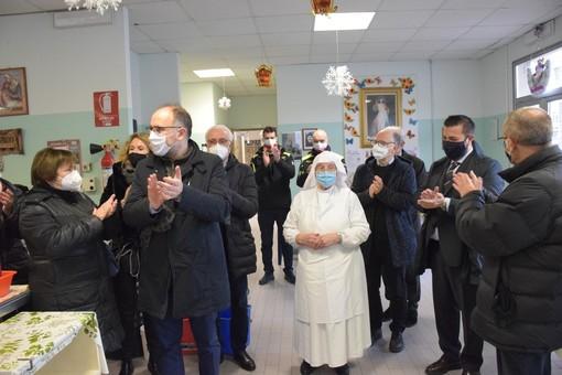 Amministratori comunali alla Mensa Sociale di Asti