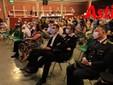 Il pubblico che ha assistito all'incontro di domenica con, in prima fila, il presidente Lanfranco (seduto accanto al comandante provinciale dei Carabinieri, tenente colonnello Pierantonio Breda) e il prefetto Alfonso Terribile (Ph. MerfePhoto)