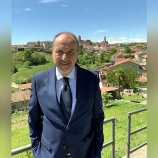 Renzo Cordero, rettore del comitato Palio di Montechiaro