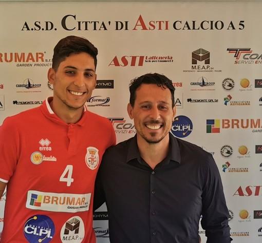 Intervista a Riccardo Braga, che con Gianfranco Lotta guiderà il Città di Asti nel prossimo campionato