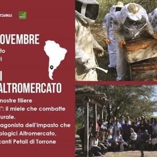 Apicoltori argentini per il Natale Altromercato della Bottega Rava e Fava