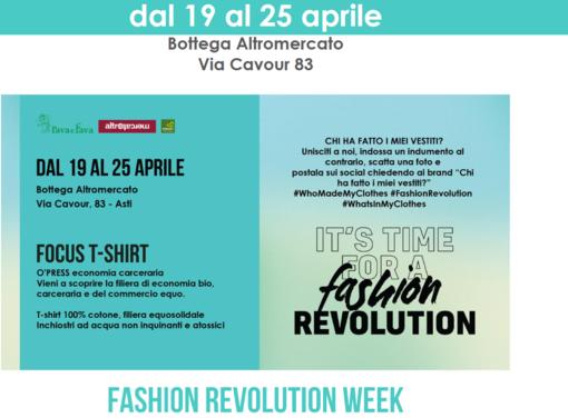 Dal 19 al 25 aprile, la Cooperativa Rava e Fava aderisce a Fashion Revolution Week