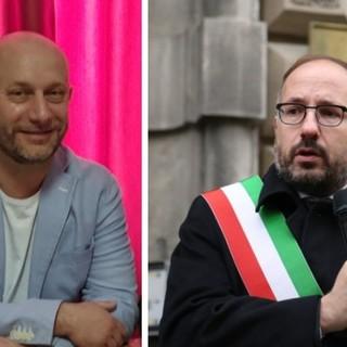 Giorgio Spata (Consigliere M5S) e Maurizio Rasero (sindaco di Asti)