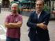 Giorgio Spata (a sinistra) e il capogruppo Massimo Cerruti, due dei consiglieri M5S astigiani. I restanti due sono Davide Giargia e Martina Veneto