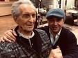 Il presidente Bosco ritratto con Raffaele Giugliano nella foto postata da quest'ultimo su Facebook