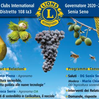 """""""Agricoltura sostenibile"""": sabato 24 aprile un webinar firmato Lions Club"""