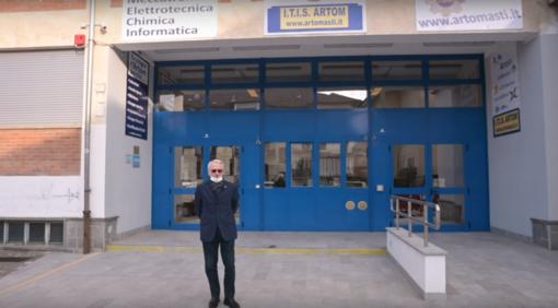 L'Istituto Artom di Asti e il Dirigente Scolastico Franco Calcagno