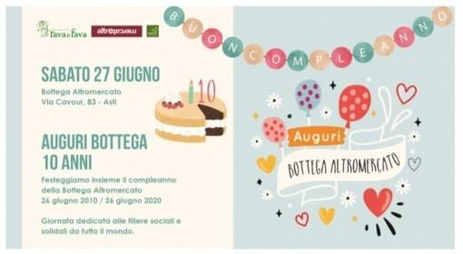 Fervono i preparativi per la 'festa di compleanno' della Bottega Altromercato di via Cavour