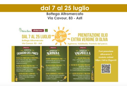 Dal 7 al 25 luglio in casa Rava e Fava prenotazioni per l'olio extra vergine di oliva