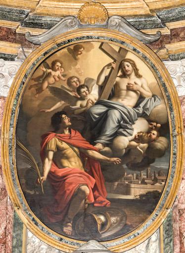 """Stefano Tofanelli, """"San Secondo davanti al Redentore"""", Collegiata, 1780-1790"""