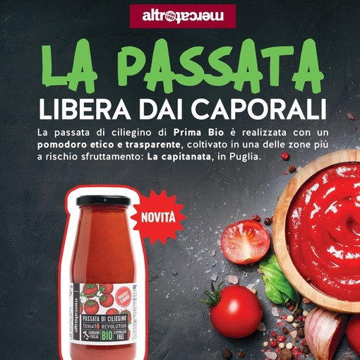 """Alla Bottega Rava e Fava torna """"Tomato Revolution"""", la passata libera dai caporali"""