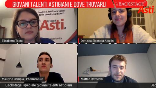 """I giovani talenti astigiani ieri sera al centro di """"Backstage"""", il nostro approfondimento giornalistico (VIDEO)"""