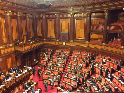 L'aula di Palazzo Madama - Immagine tratta da Wikipedia di Fratello.Gracco - Opera propria, CC BY-SA 4.0, https://commons.wikimedia.org/w/index.php?curid=69405232