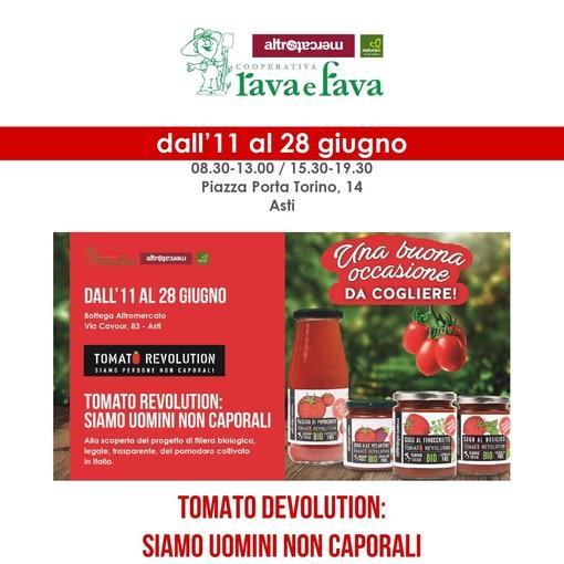 """Alla Bottega Rava e Fava è tempo di """"Tomato Revolution"""", la passata """"caporalato free"""""""