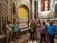 La delegazione moncalvese in visita alla tomba di Adelasia